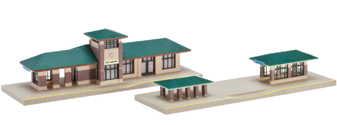 N North American Suburban Station kit